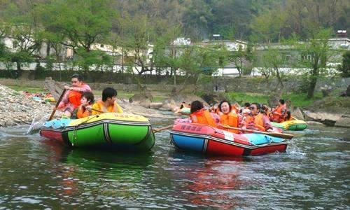 公司旅游——记牯牛降风景区,蓬莱仙洞,仙寓山,秋浦河漂流欢乐二日游